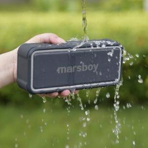 Marsboy Bluetooth Lautsprecher Wasserdicht